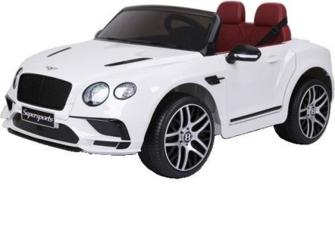 JE1155 POJAZD BENTLEY 12V R/C EVA WHITE